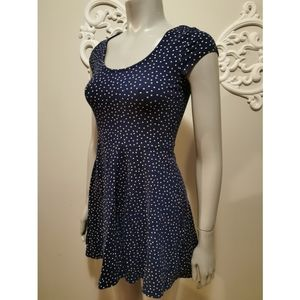 Divided H&M EUC short dotted dress